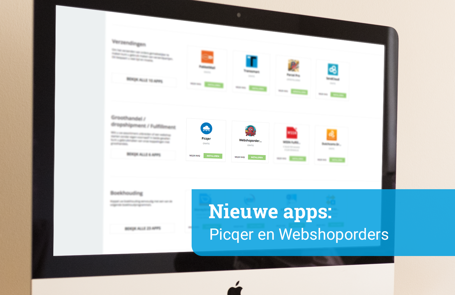 App Flash: Picqer & Webshoporders
